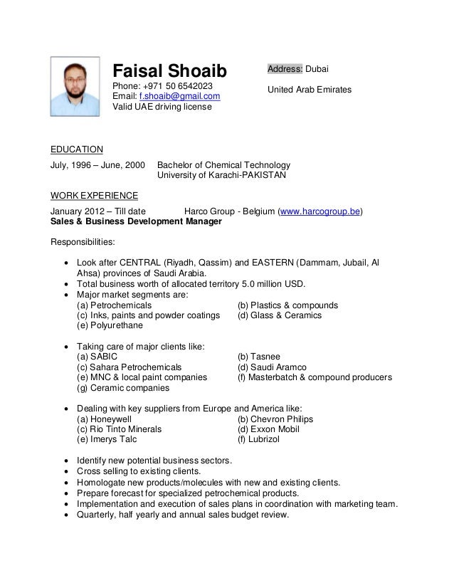 resume      faisal shoaib