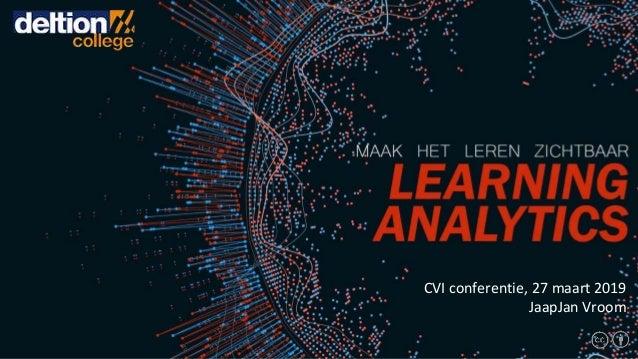 CVI conferentie, 27 maart 2019 JaapJan Vroom