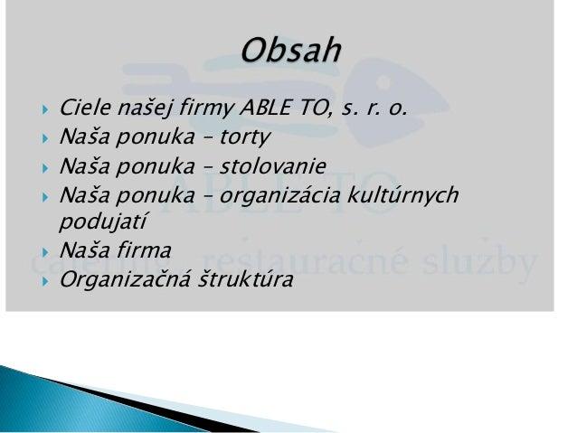 9b11a77c6 ... Naša firma Organizačná štruktúra; 2.