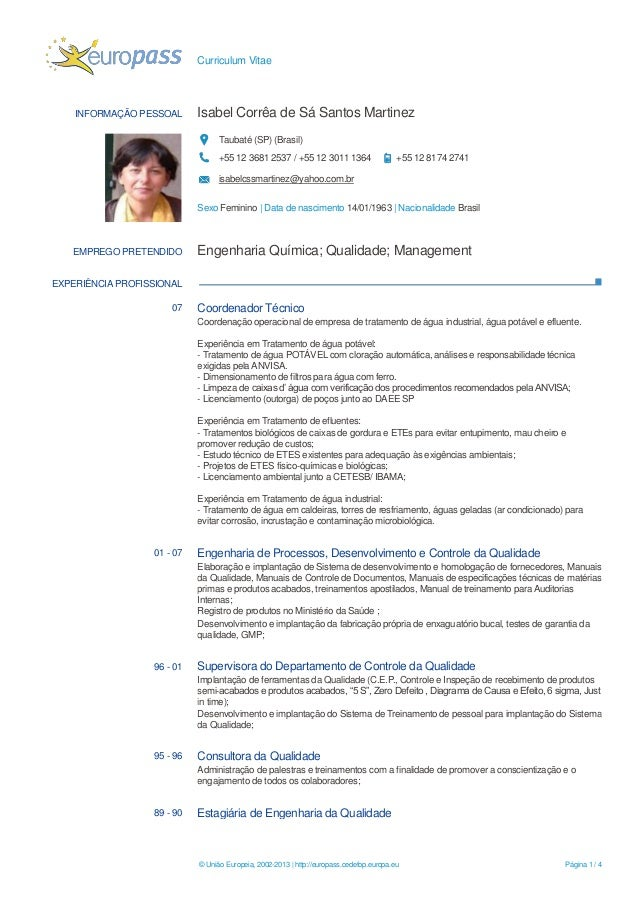 cv isabel martinez