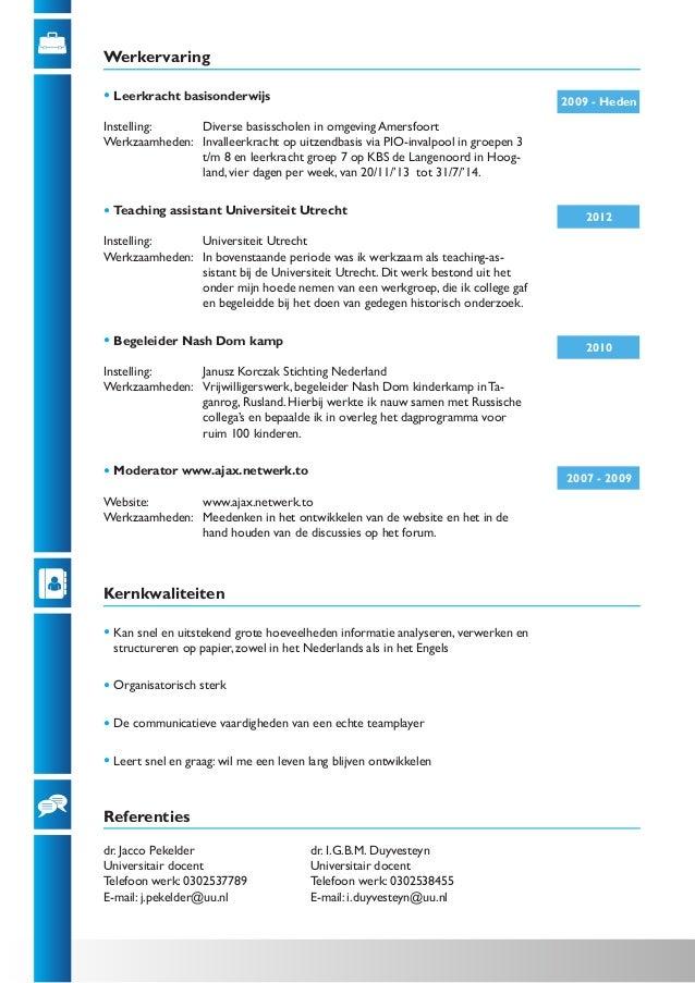 Curriculum vitae voorbeelden onderwijs :: affordable paper writing