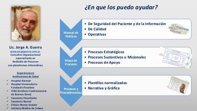 Manual de Políticas • De Seguridad del Paciente y de la Información • De Calidad • Operativas Mapa de Procesos • Procesos ...