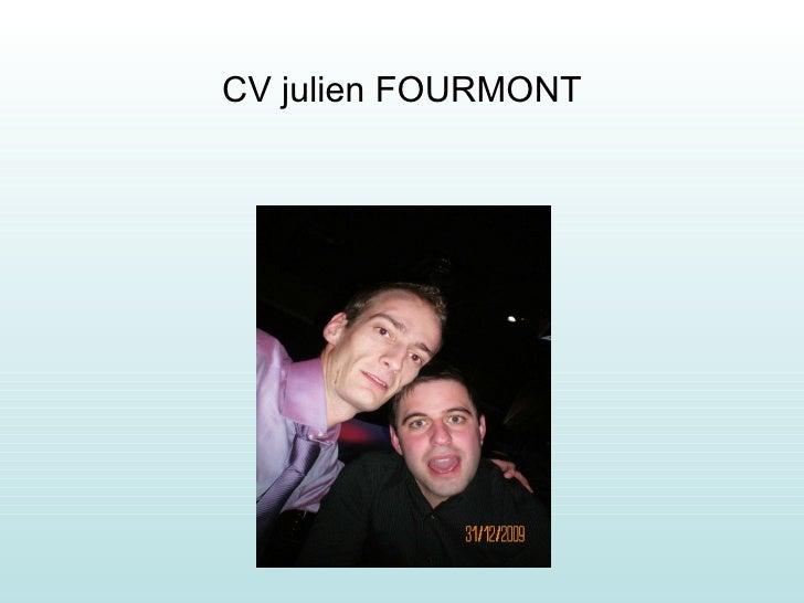 CV julien FOURMONT