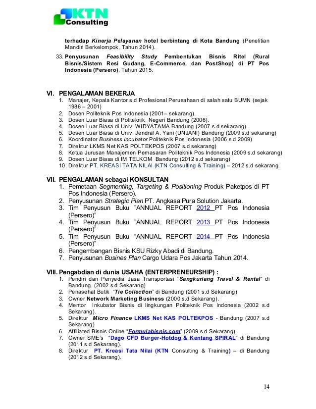 format curriculum vitae untuk narasumber
