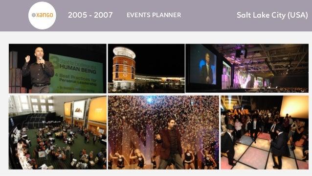 2005 - 2007 EVENTS PLANNER Salt Lake City (USA)