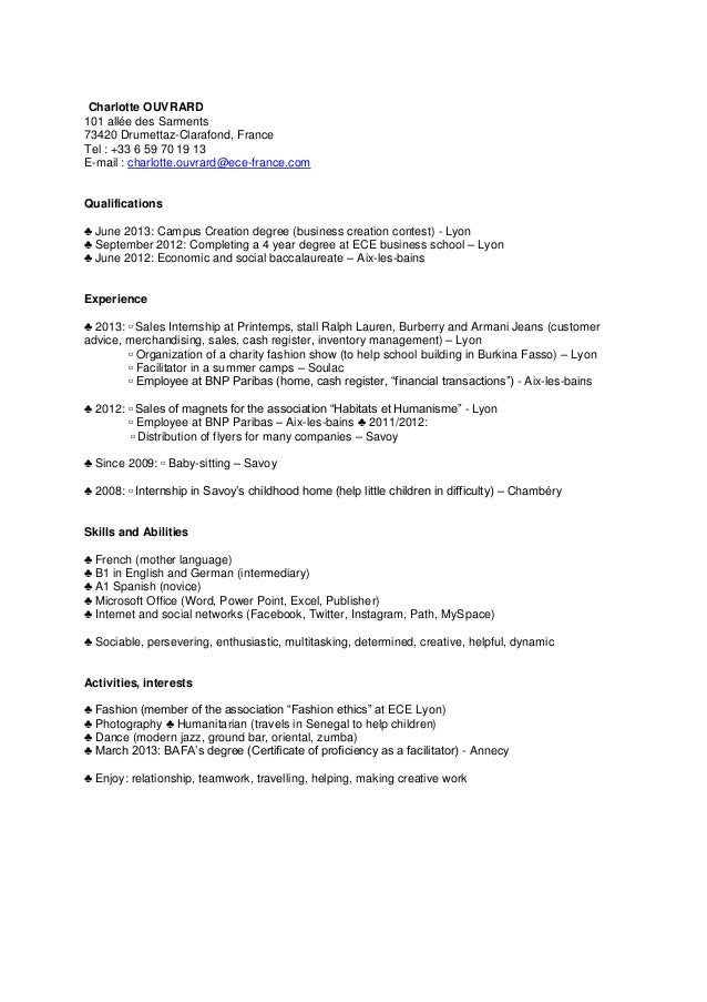 lettre motivation cv Cv + lettre de motivation lettre motivation cv