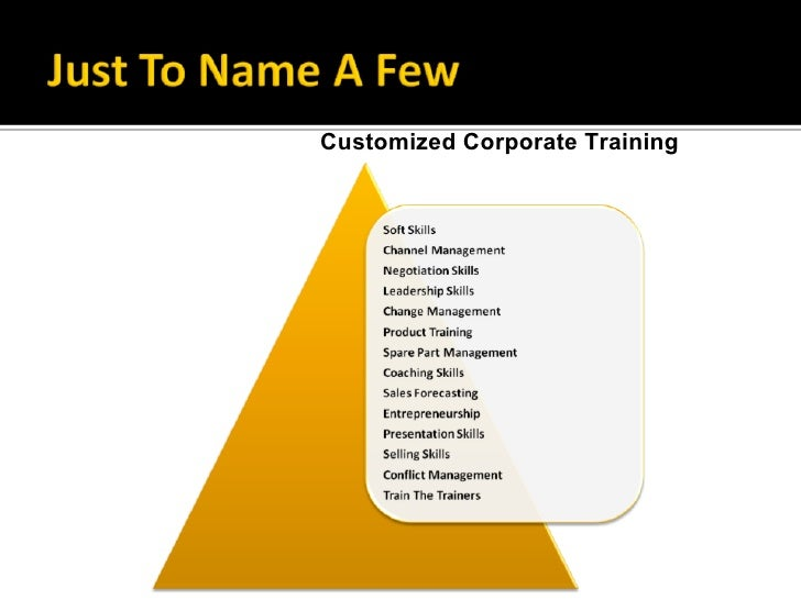 Innovating Training