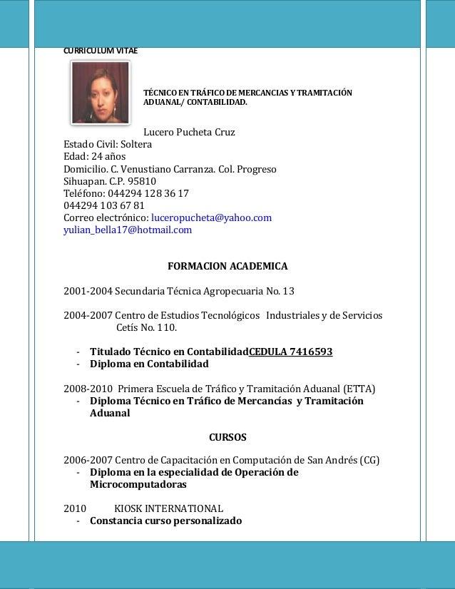 Excepcional Experiencia De Curriculum Vitae De Técnico De Farmacia ...