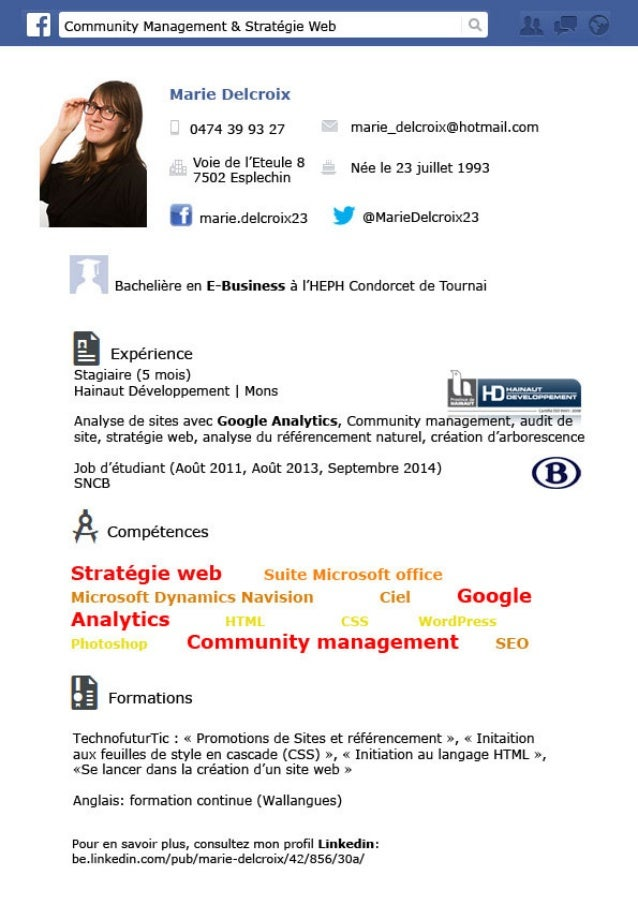 cv marie delcroix e business community