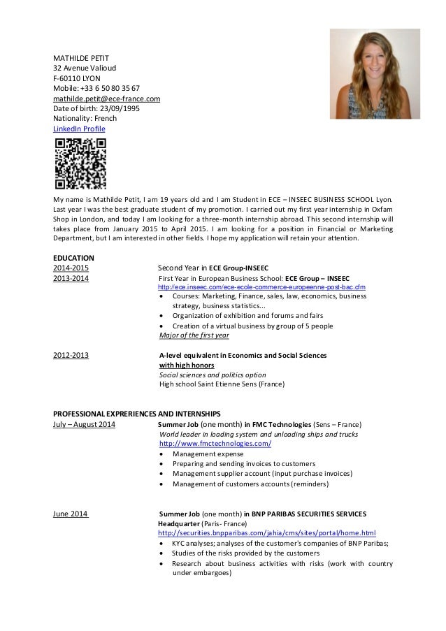 sle academic cv template 8 documents in pdf