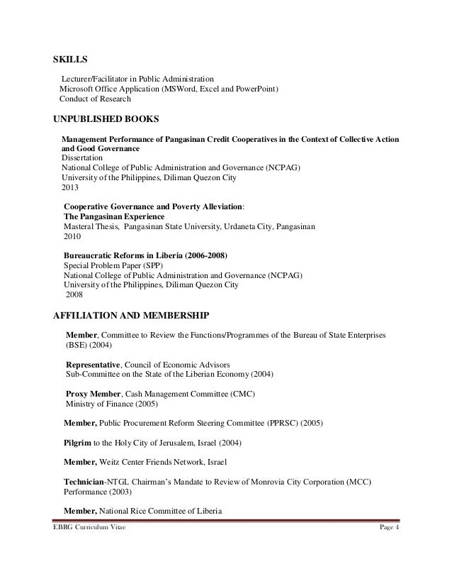 samples of curriculum vitae   thevictorianparlor co