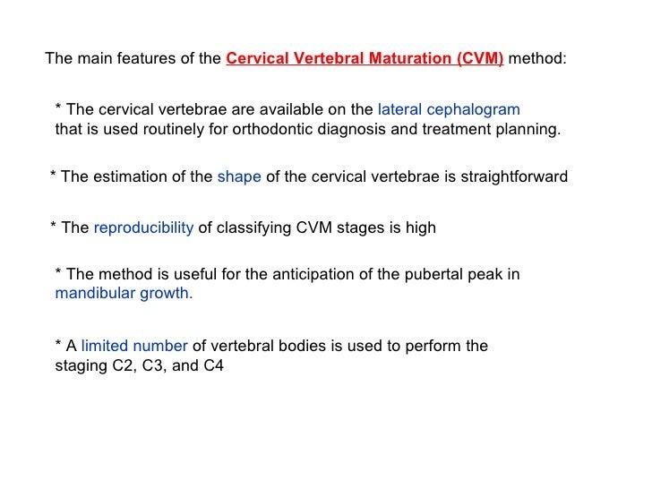 Cvm Method