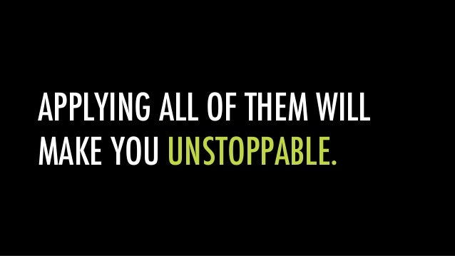 How to Build an Unstoppable Business