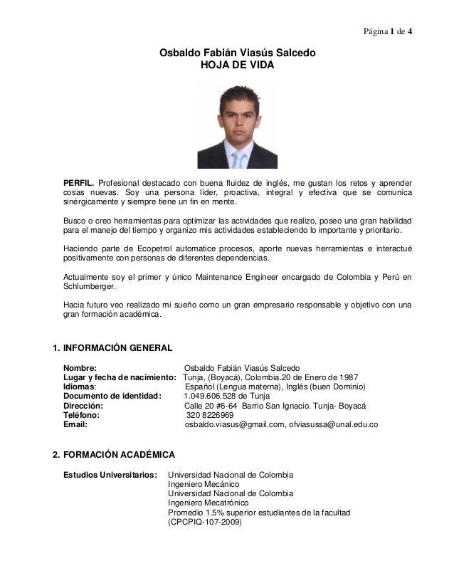Excelente Mejor Currículum De Estudiante De Ingeniería Mecánica ...