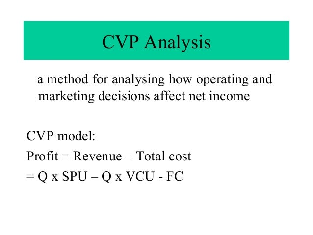 a case study of cvp analysis Gez petrol station: using cost-volume-profit analysis for planning  in: 2nd  national case study conference 2015, 6th- 8th october 2015,.