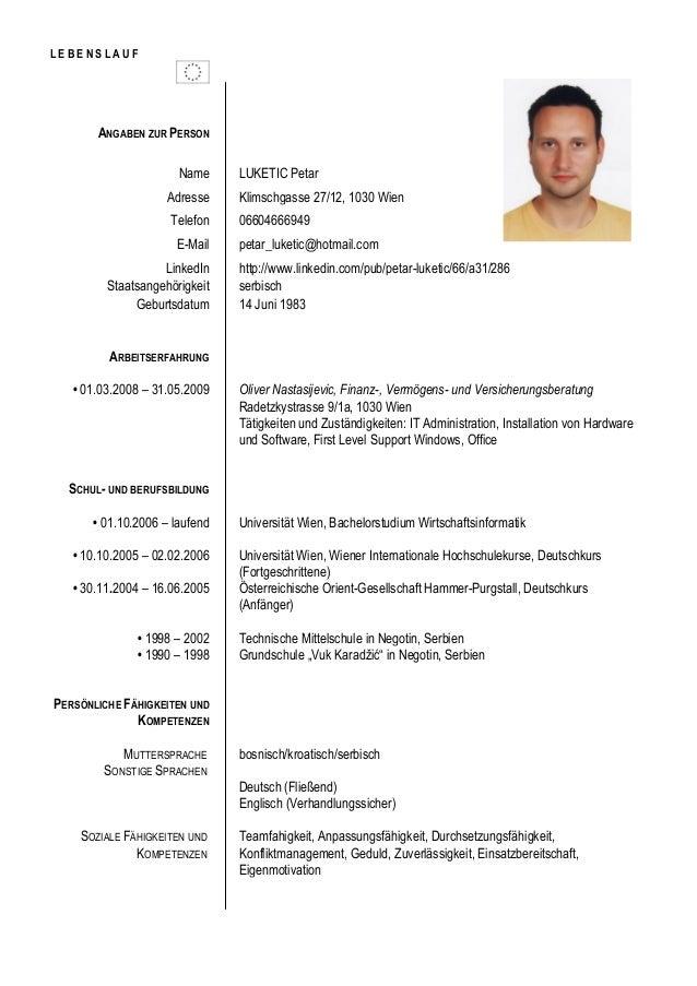 CV Petar Luketic