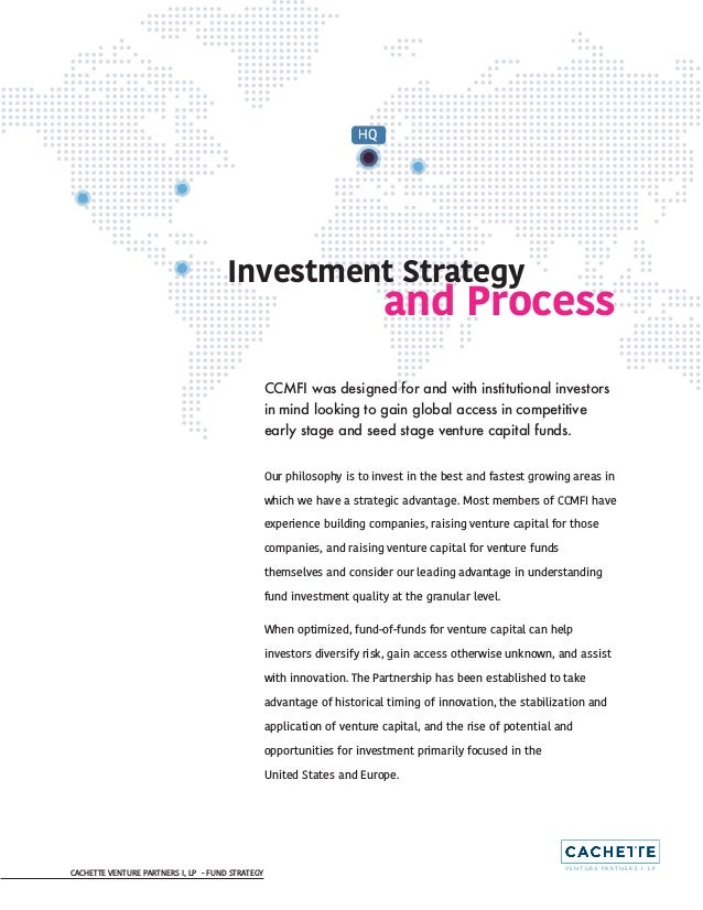 CCMFI Fund Investment Strategy and Process