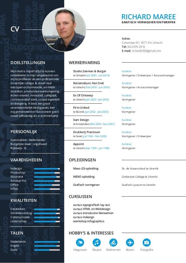 cv grafisch CV & Portfolio