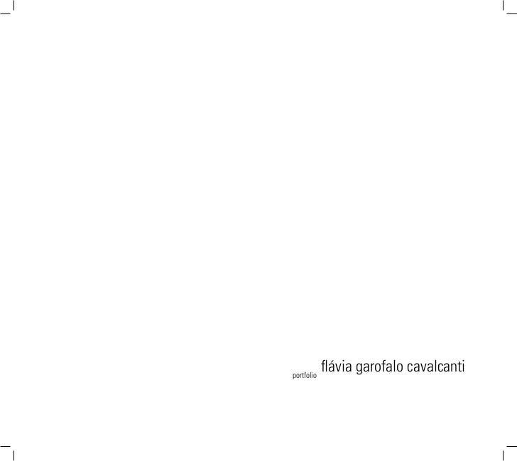 portfolio            flávia garofalo cavalcanti