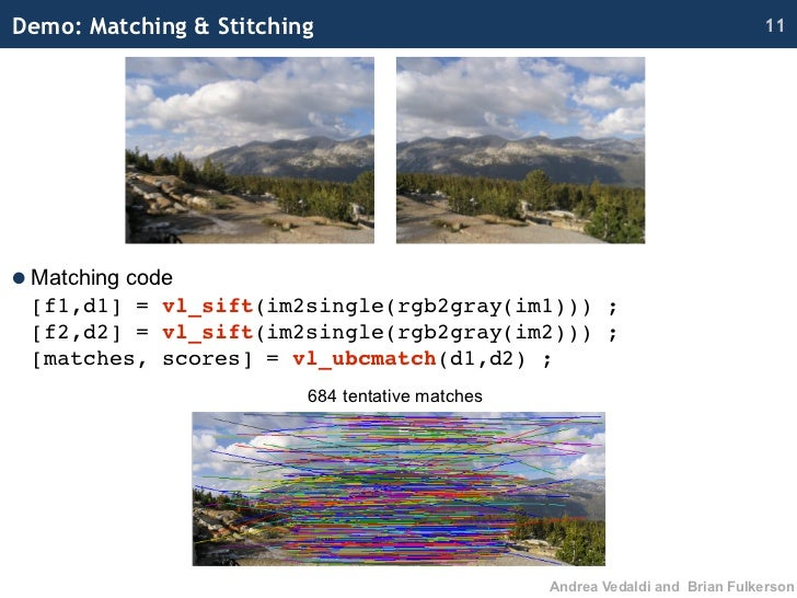 Cvpr2010 open source vision software, intro and training part i vl fe…