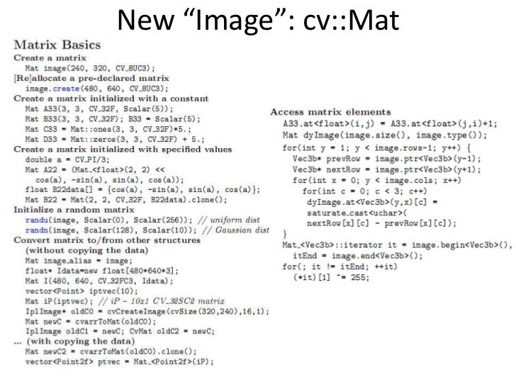 cvpr2010 open source vision software intro and training part v open