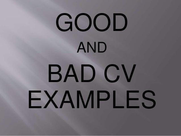 cv preparation