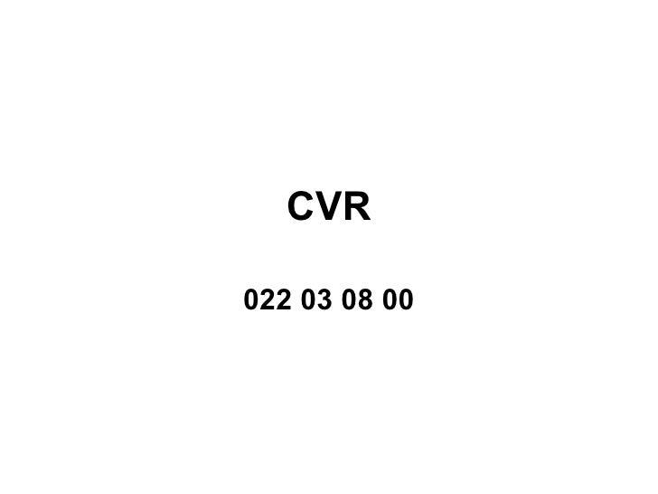 CVR 022 03 08 00