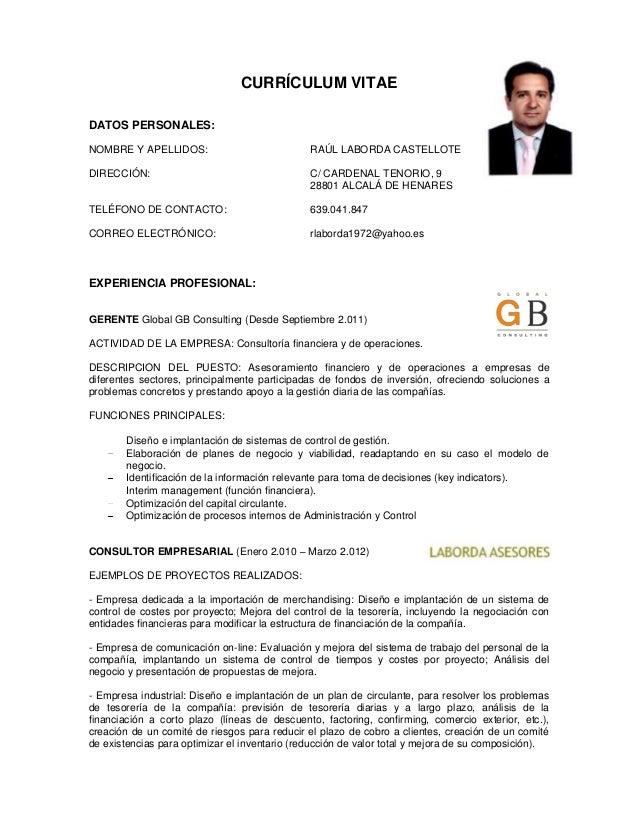 CV RaúL Laborda
