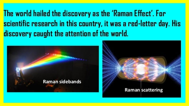 c v raman  the pride of india