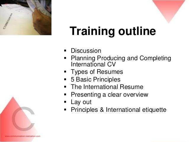 resume writing training - Roho.4senses.co