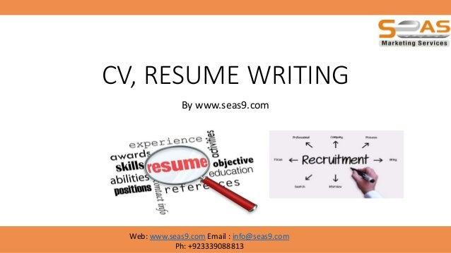 CV Resume Writing Basics