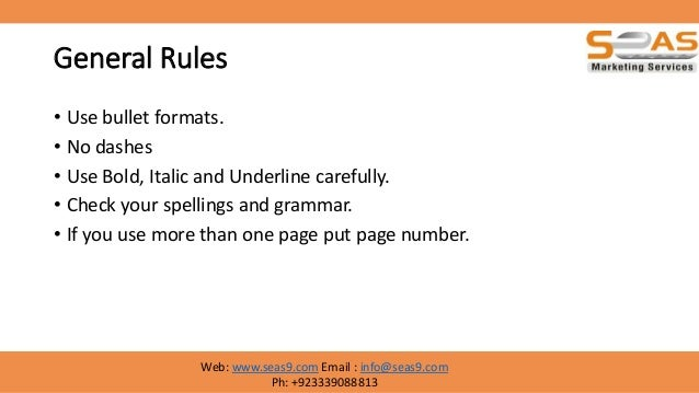 ... 26. General Rules ...