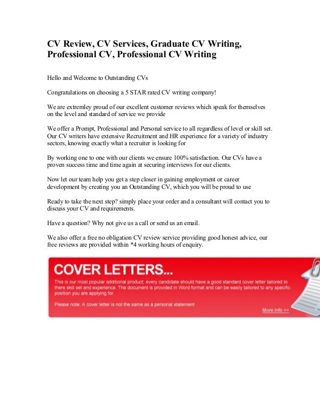 Cv writing services review