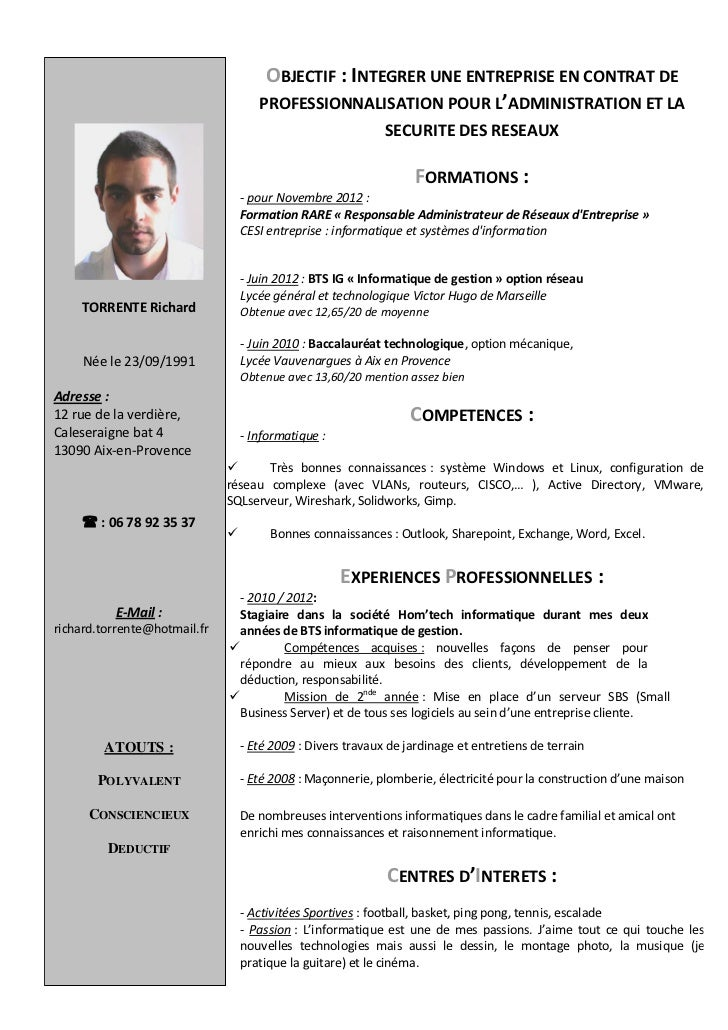 cv richard torrente
