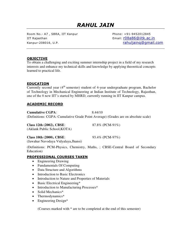 RAHUL JAIN Room No.- A7 , SBRA, IIT Kanpur                             Phone: +91-9452012845 IIT Rajasthan                ...