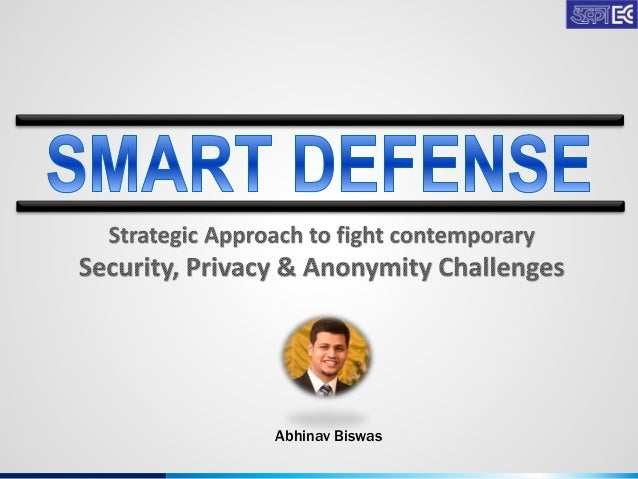 smart defense  strategic approach to fight contemporary