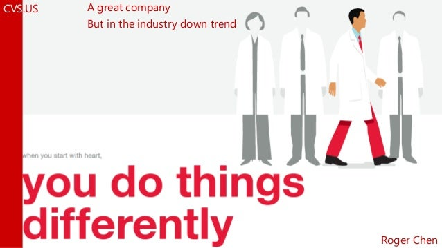 A great company But in the industry down trend CVS.US Roger Chen