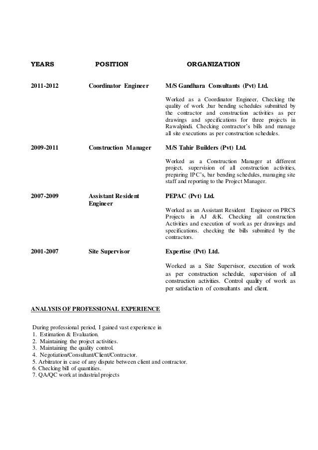 2 2009 2011 site engineer aarcon builders construction - Civil Construction Engineer Sample Resume