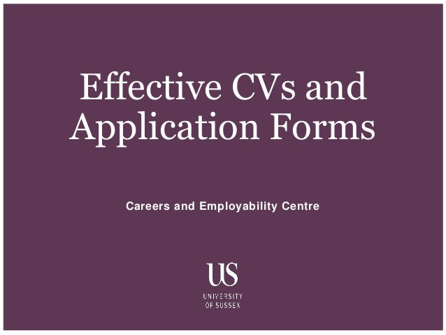 Effective Cvs And Application Forms 1 638gcb1509986328