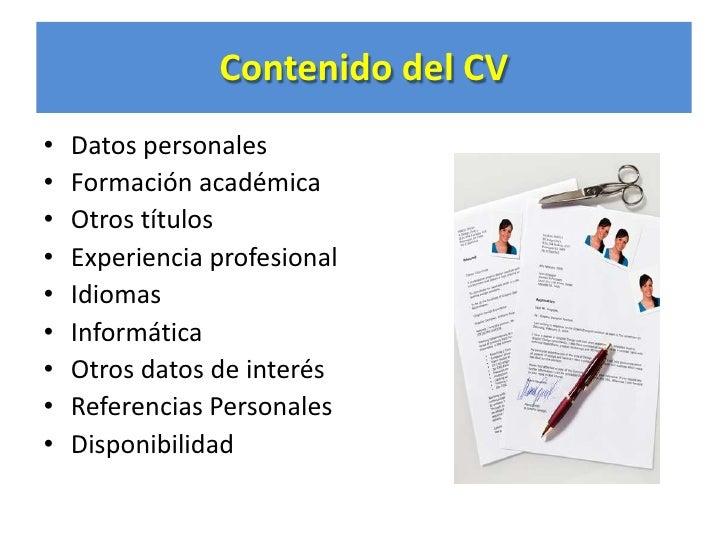 Curriculum Vitae General