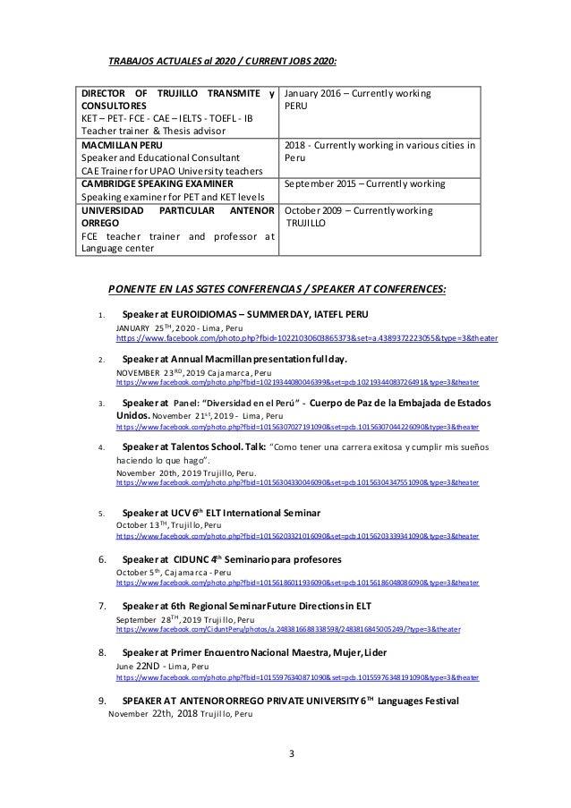 CV Siorella Gonzales  2020 Slide 3
