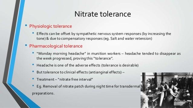pharmacology of organic nitrates