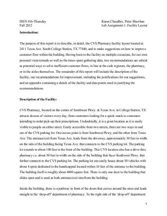 cvs pharmacy assignment Sample essay on pestel analysis of cvs pharmacy: i appreciate help on the assignment it was hard for me but am good to go now impact of pollution on environment.
