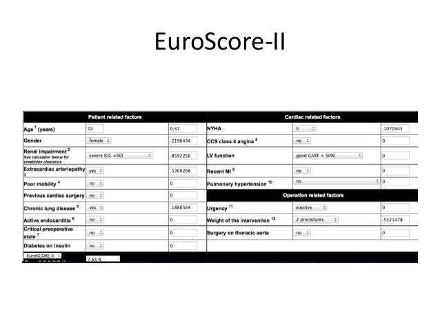 EuroScore-II