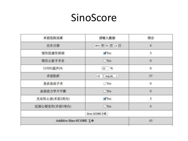 SinoScore