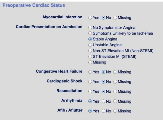 Risk Scores in Cardiac Surgery