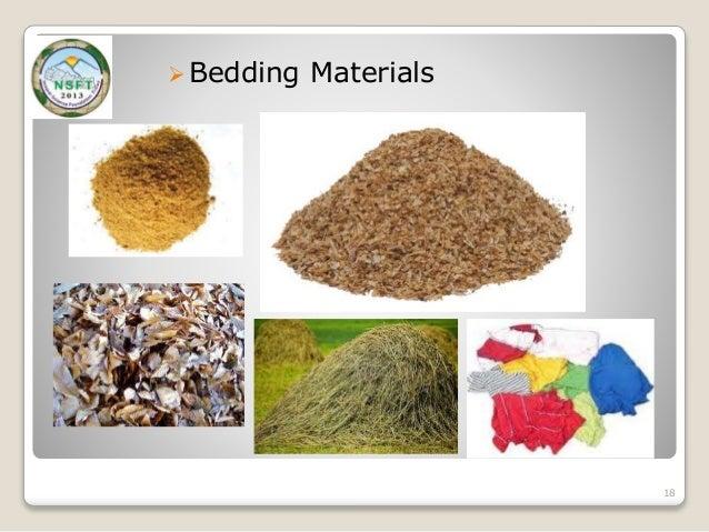 Bedding Materials 18 ...