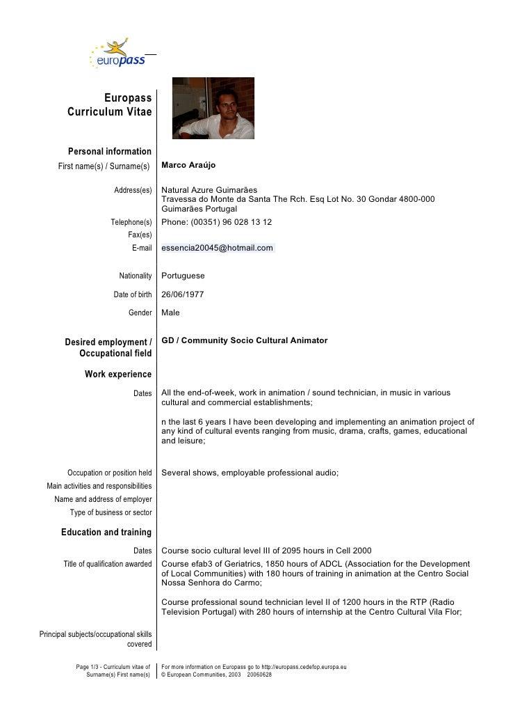 Genial Resume Writers In Europe Clean European Resume Cv Jpg Clean European Resume  Cv Jpg Clean European