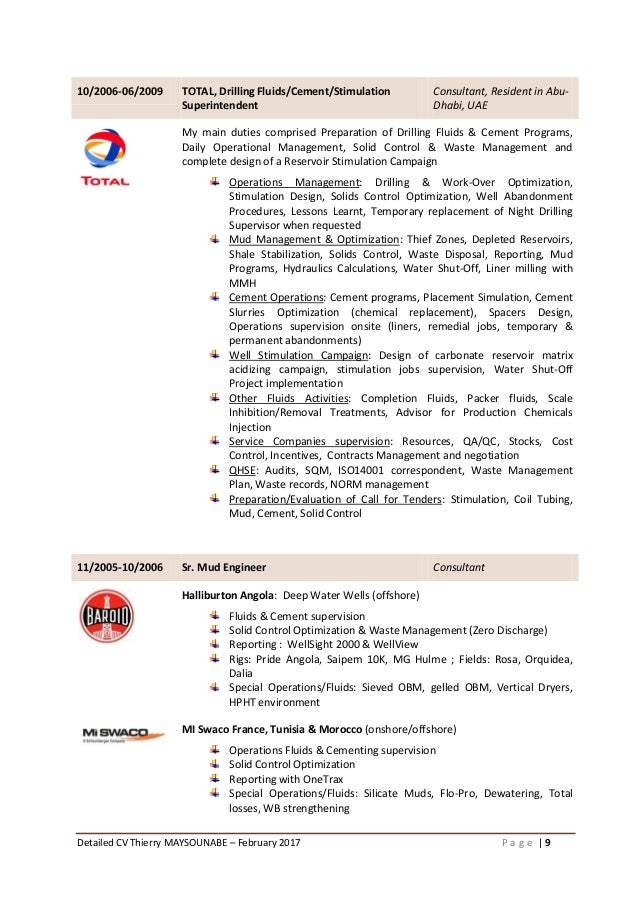 Cv thierry maysounabe 022017