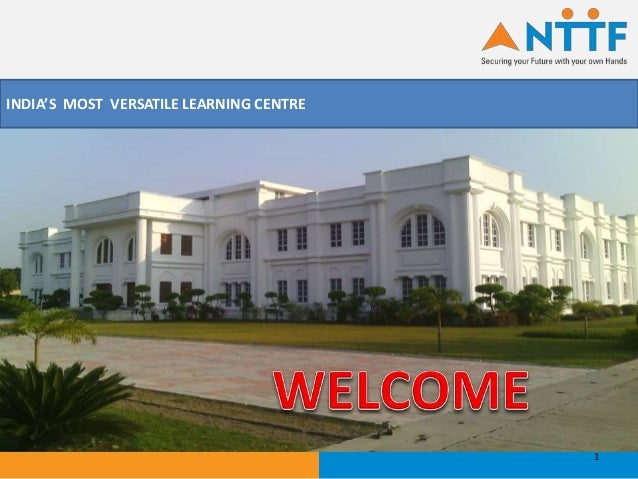 INDIA'S MOST VERSATILE LEARNING CENTRE 1